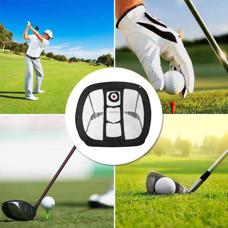 Golf Swing Practice Chipping Net Indoor Outdoor Golfing Target Net Golf Accessories For Accuracy And Swing Practice  N66