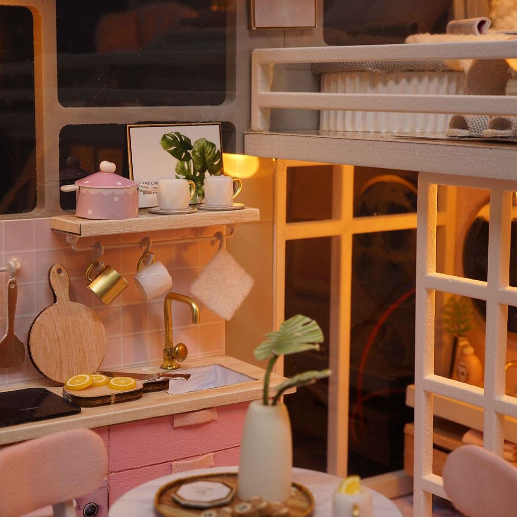 H2b559a69039d40bda774750ea6ddf815A - Robotime - DIY Models, DIY Miniature Houses, 3d Wooden Puzzle
