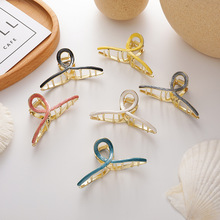 2020 New Trendy Vintage Enamel Hair Claws Hair Clips For Wom