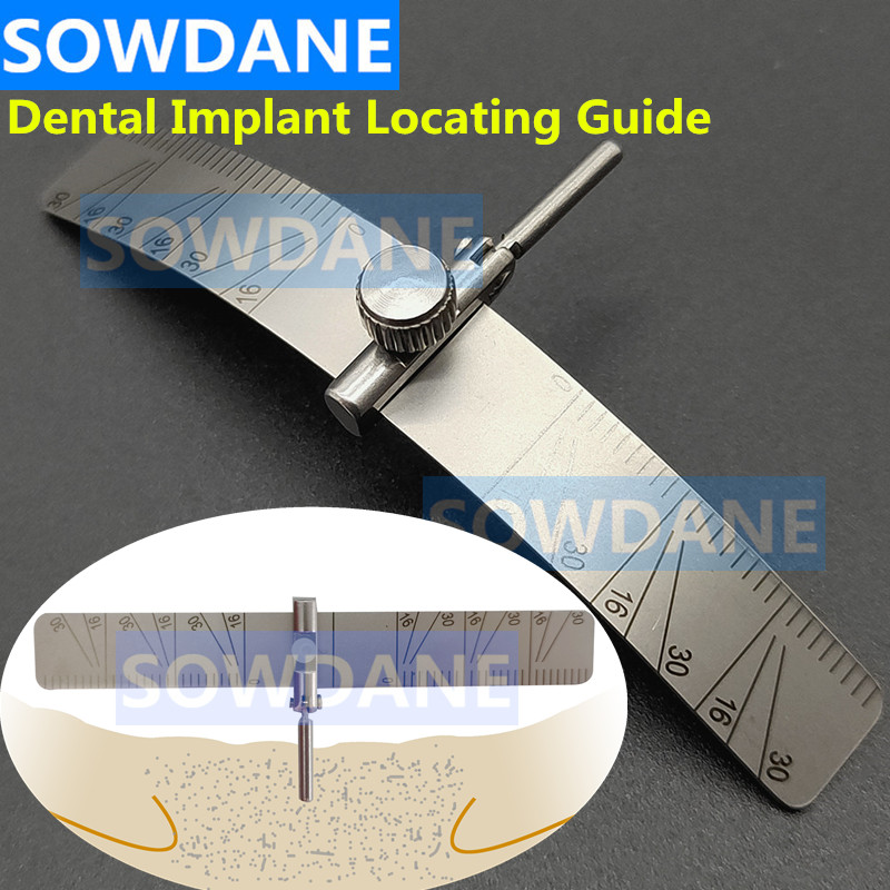 Dental Implant Locating Guide Dental Surgery Plant Position Locator Dental Positioning Angle Ruler G