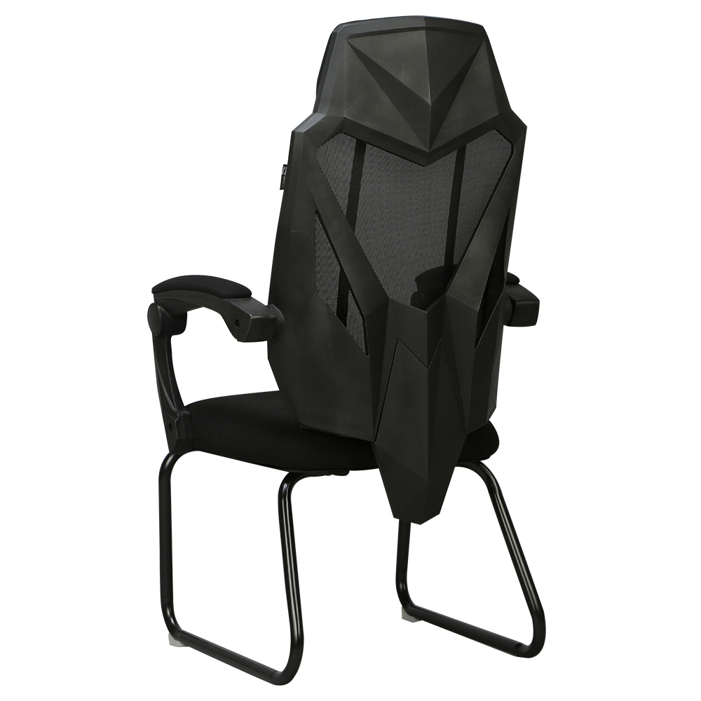 E1Black And White Computer Chair Home Esports Chair Game Chair Seat Chair Backrest Comfortable Boss Chair Reclining Office Chair