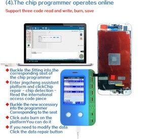 Image 5 - JC V1s v1 For iphone 7 11ProMax Photosensitive Original Color Touch Shock Baseband Logic Almighty Battery Fingerprint Programmer