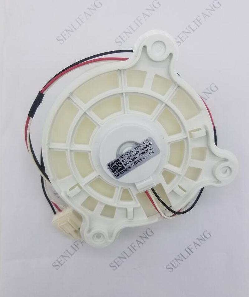 For Refrigerator Parts Fan Fan Motor ZWF-30-3 DC12V 2.5W 1870RPM