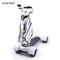Electric golf ball charter carriage wheel balance 3 car shake driver trailer charging golf hand Golf Trolley/Cart Golfwagen