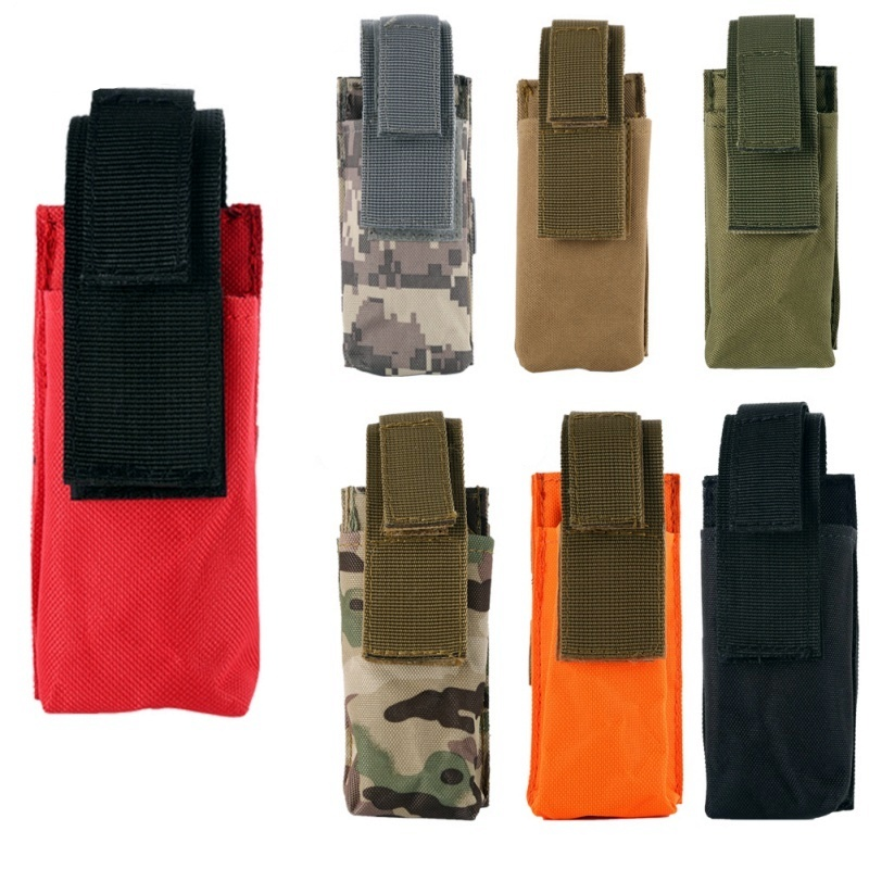Molle Tactical Medical Scissor Pouch Tourniquet Holder EDC Waist Pack Hunting Military Accessories Knife Flashlight Holster Bag