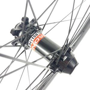 Image 3 - 1280g 29er MTB XC 34mm kancasız 30mm genişlik düz çekme hafif karbon tekerlek D411SB D412SB 6 cıvata merkezi kilit 24H disk tekerlekler