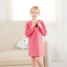 Brand Autumn Winter Girl Dress Cotton Long Sleeve Children Dresses Floral Kids Dresses for Girls Fashion Girls Clothing