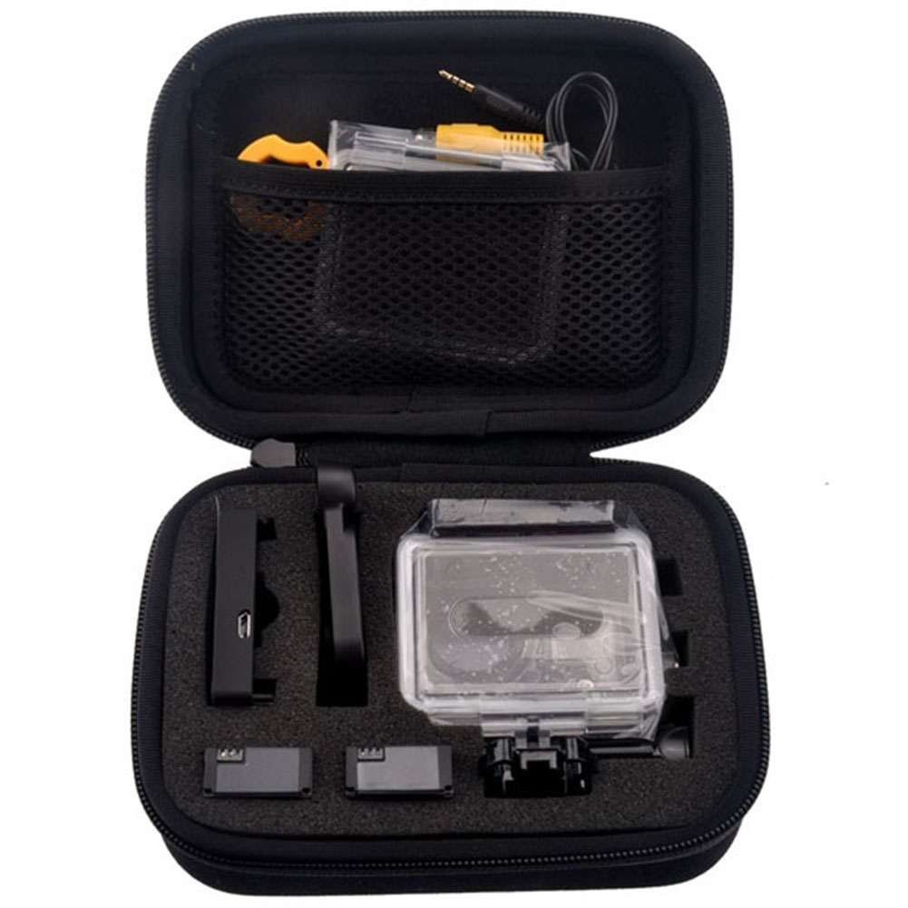 Small Size Camera Collection Bag Storage Case Portable Shockproof For Gopro Hero 4 3 3+ for Xiaomi Yi Sport Camera image