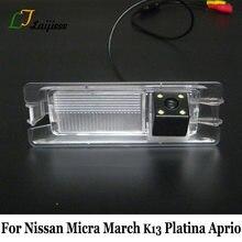 Câmera de estacionamento Para Nissan Micra Março K13 Platina Aprio/Com Relé de Potência HD CCD Visão Noturna Auto Reverter Retrovisor câmera