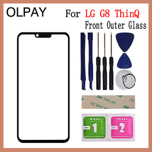 """Image 2 - 6.1"""" inch For LG G8 ThinQ G820N G820QM G820V G820UM Touch Screen Front Outer Glass Panel Replacement"""