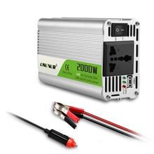 Usb Charge 2000W Watt Dc 12V Naar Ac 220V Gemodificeerde Sinus Auto Power Inverter Charger Converter draagbare Adapter