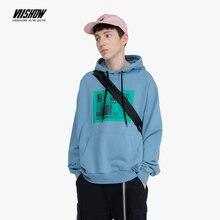 VIISHOW 2019 Brand autumn mens cotton Sweatshirt Hoodies men Women Sweatshirts Dropshipping Hot Selling male WD2559193