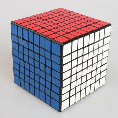 Couleur 8X8X8 Cube magique carré 8th-Order noir bas Compilation cubique enfants développement intellectuel jouets - 2