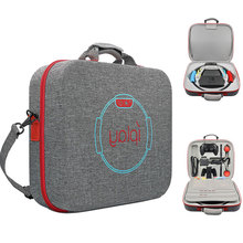กระเป๋าสตางค์มัลติฟังก์ชั่สำหรับ Nintend SWITCH แบบพกพา EVA ฟิตเนสฐานแหวนเก็บ SHELL NS Crossbody