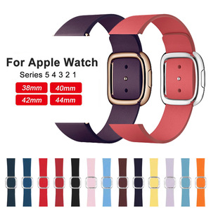New Leather Loop Strap for Apple Watch B