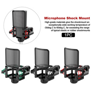 Image 3 - Professional Anti Vibration Shock Mount For Microphones With Filter Screen With blowout guard