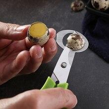 Голубь перепелиное яйцо ножничный резак для птицы открывалка для яиц ножи для резки ломтиками, кухонные инструменты для домохозяек Аксессуары Гаджеты