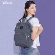 Sunveno Multi-function Mammy Bags Large Capacity Mother Backpack Baby Bag Maternity Nursing Diaper Bag Shoulder Bags sunveno оранжевый