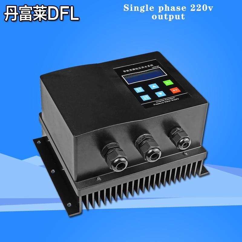 Постоянная Давление водоснабжения инвертор однофазный Выход 220V 1.5kW двухпроводная Выход преобразователь частоты для домашнего использован...
