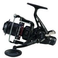 YUMOSHI KM Spinning Fishing Reel 11BB 5.2:1 Freshwater/Saltwater Carp Fishing Reel Pro/Post Double Brake Smooth Casting Reel