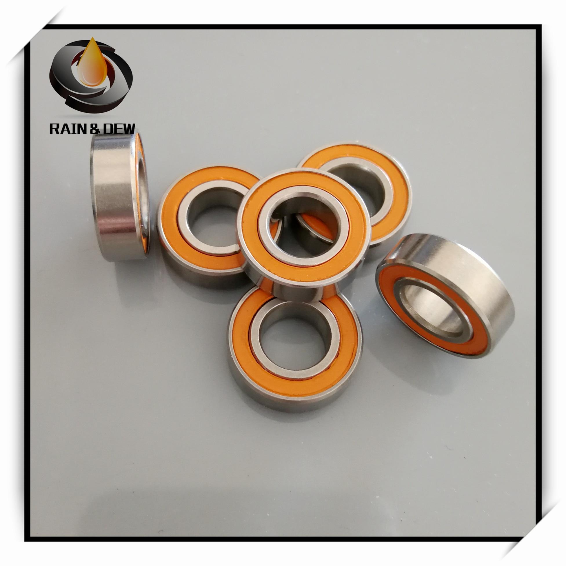 7x14x5 mm Hybrid Ceramic Ball Bearing ABEC-7 ORANGE /'/'FREE SHIPPING/'/' QTY 10