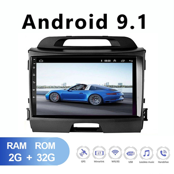 JOYINCAR 2Din Car Android Radio multimedia player for KIA sportage 2010 2011 2012 2013 2014 2015 2Din autoradio video GPS Navi image