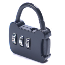 1 Pcs Resettable 3 Dial Digit Combination Luggage Password  Lock Portable Suitcase Code Padlock Color Random Free Shipping 3 digit compact padlock assorted color