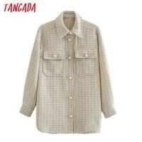 Твидовая рубашка с жемчужными пуговицами Цена 1552 руб. ($19.72) | 661 заказ Посмотреть
