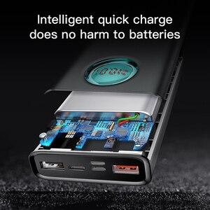 Image 5 - Baseus 20000mAh כוח בנק 18W PD3.0 QC3.0 מהיר טעינה חיצוני נייד מטען נסיעות חיצונית סוללה Powerbank עבור טלפון