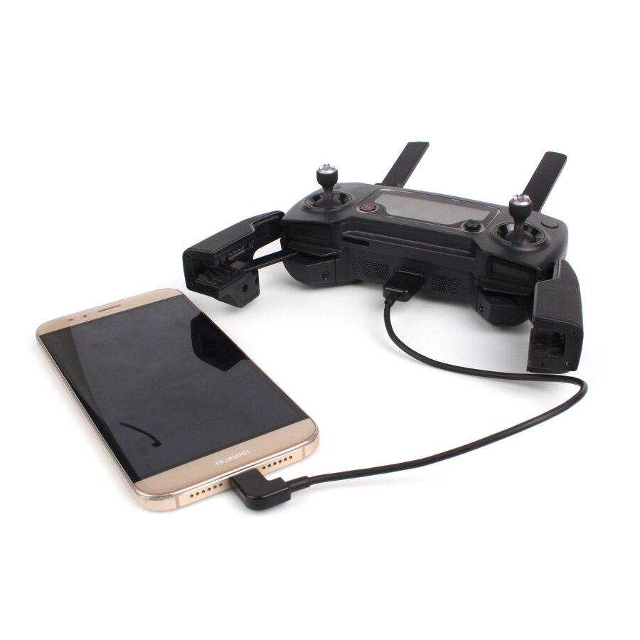 Data Cable Data USB Line For IOS Android TYPE-C Port For DJI SPARK MAVIC 2 PRO AIR Phantom 4 Phantom 3 Inspire 2 1 OSMO MOBILE 3
