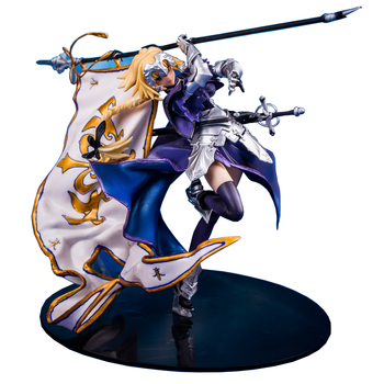 Free Shipping Fate stay Night Banner Of Freedom Joan of Arc Saber Saintly-woman GK Statue PVC Action Figure Model Xmas Toy T30 wow action figure dc unlimited series 4 9 inch deluxe medusa lady vashj wow pvc model toy free shipping