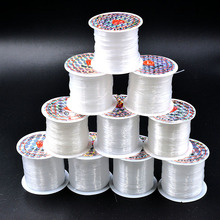 New 0.2mm-0.8mm Strong Non-Stretch Fish Line Wire Nylon String Cord Thread Rope Beading Beads For Jewelry Making