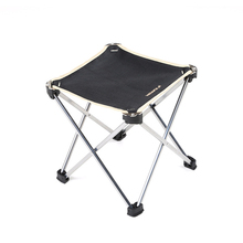 Quality Outdoor portable folding chair leisure stool light weight aluminum alloy camping Picnic fishing chair folding portable outdoor fishing chair backpack playing climbing outdoor portable folding stool backpack high quality