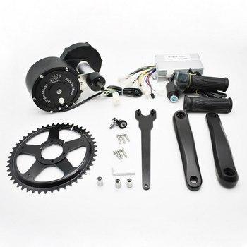 48V 500W Bicycle Modified Electric Kit 68-73mm Universal Electric Bicycle Gear Hub Motor Conversion Kit Mountain Bike to Ebike