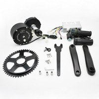 48V 500W Bicycle Modified Motor Controller Brushless Center Kit for 68 73mm Bicycles Electric Mountain Bike Motor Conversion Kit
