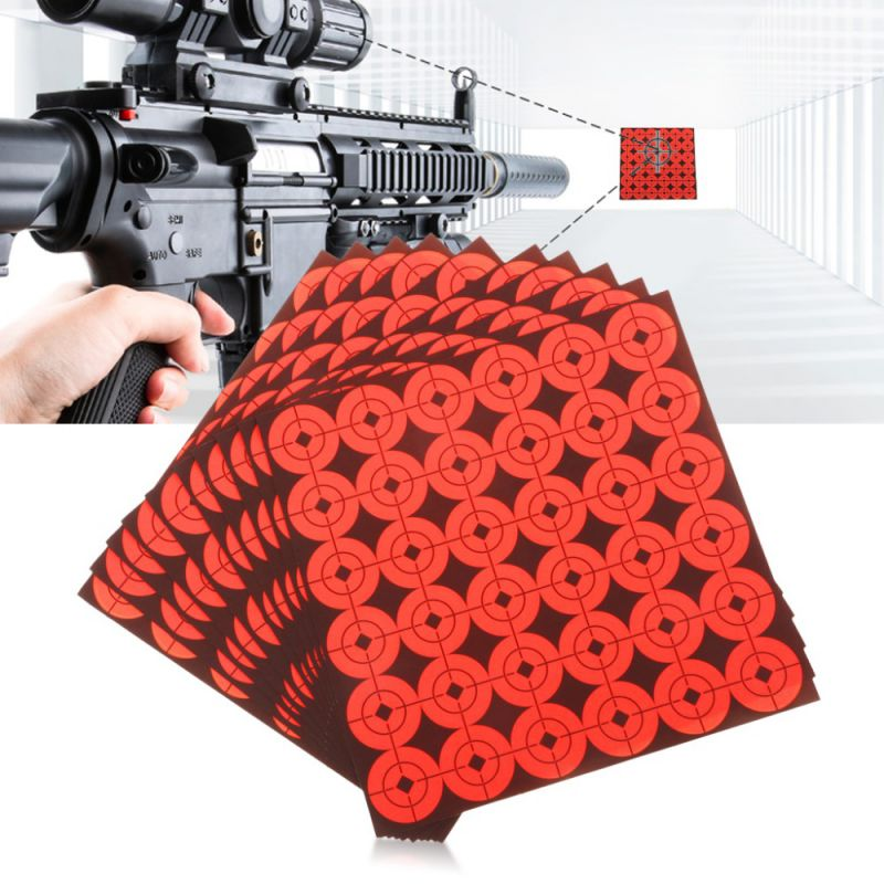 Shooting Target Sticker 2.5 Cm Diameter Self-adhesive Lightweight  Easy To Carry Shooting Training Tools