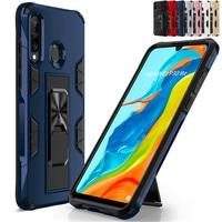 Para Huawei P Smart Z Pro 2019 caso armadura a prueba de golpes cubierta Huawei Honor 8A 8S 9S 9X 10 P30 Lite Nova 3e P40 Pro Plus P20 Fundas
