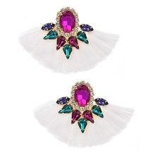 Женские богемные серьги zhini с кисточками 2020 10 цветов винтажные