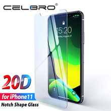 Vidrio templado para iPhone 11 Pro vidrio de máxima protección lente de cámara de vidrio de fibra de carbono película adhesiva para iPhone 11 Pro Max Film