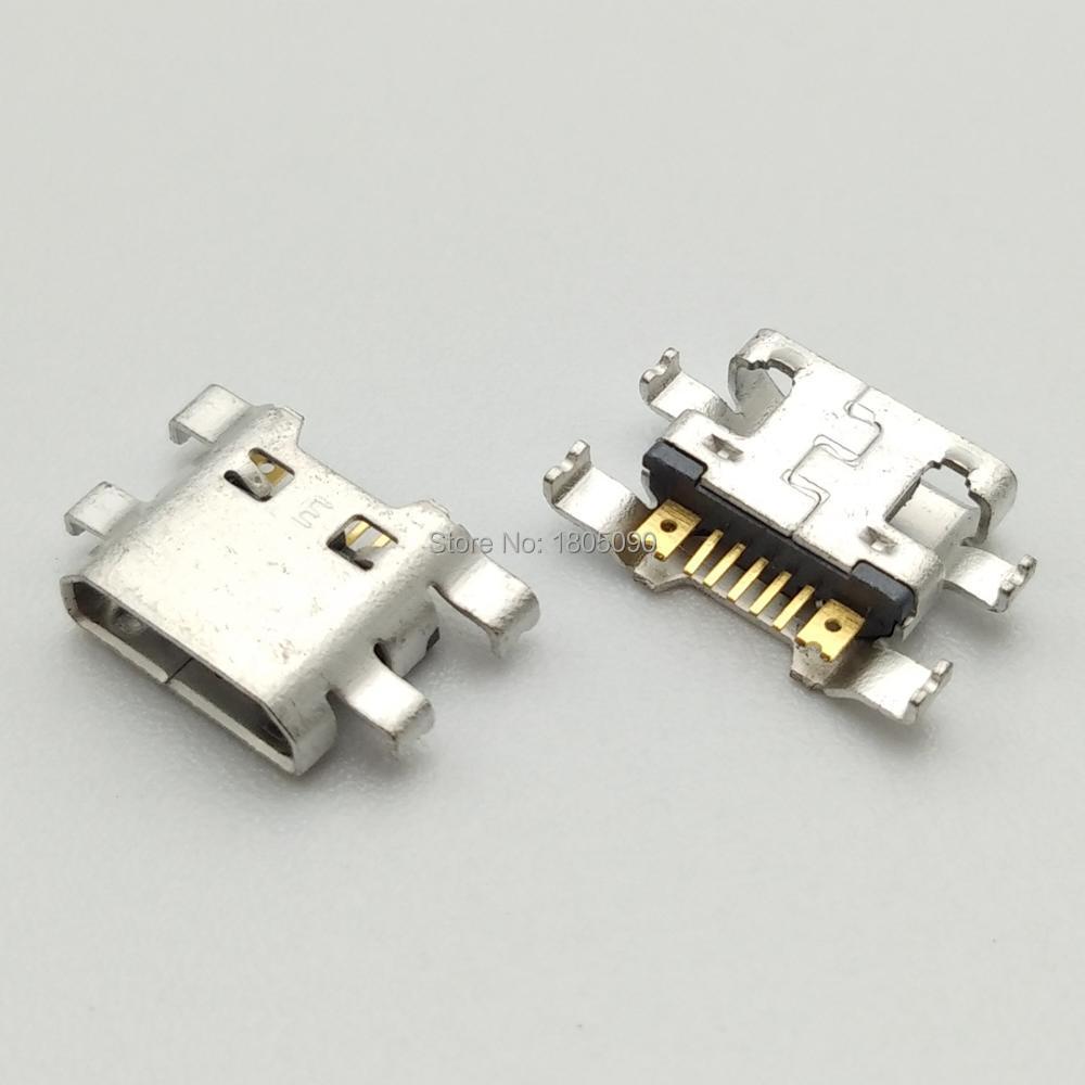 50pcs Micro USB Jack Charging Socket Port Plug Dock Connector For LG K4(2017)M160 K8 M200N K520 X Cam K580 Power K220DS K500N