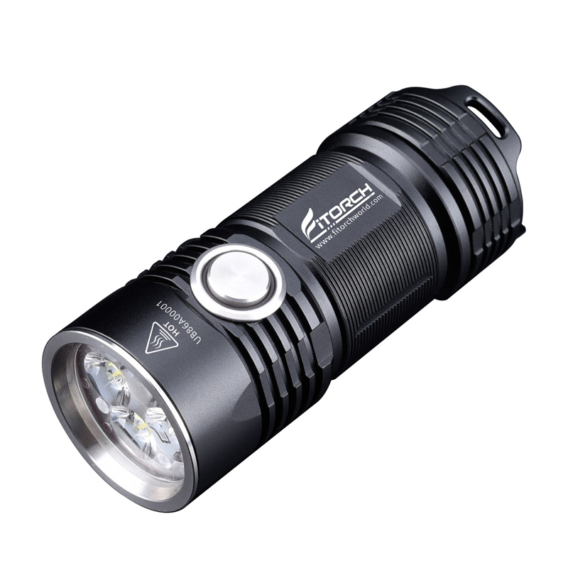 Fitorch P25 4x XPG3 LEDs 3000LM 5 Modes IPX-8 Waterproof LED Flashlight 26350 Li-ion Battery Camping Torch Lantern Spotlight