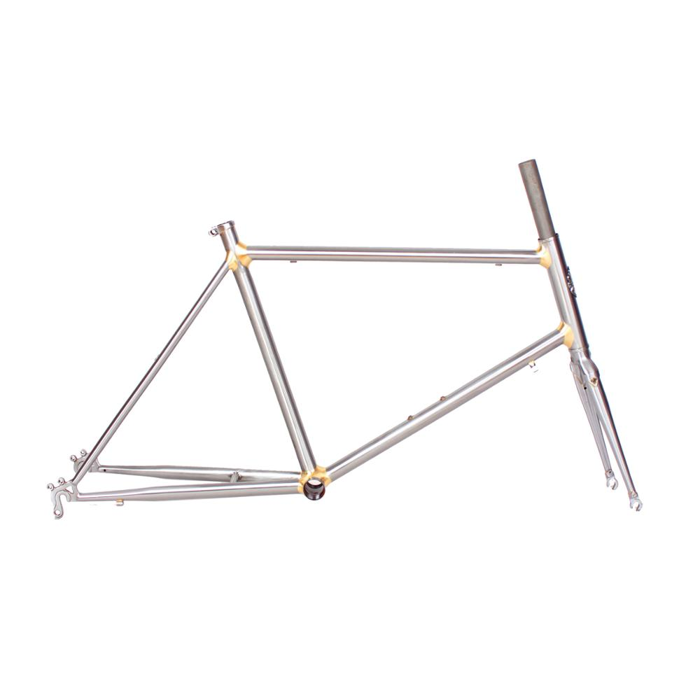 20 inch <font><b>bike</b></font> <font><b>frame</b></font> Reynolds 4130 Chrome molybdenum <font><b>steel</b></font> road <font><b>Bike</b></font> <font><b>frame</b></font> Copper plated <font><b>frame</b></font> customize 451 <font><b>bike</b></font> <font><b>frame</b></font> bicycle image