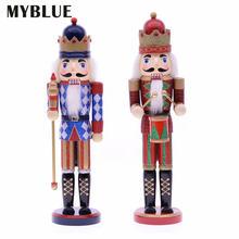 Myblue 2 шт/компл 37 см винтажная деревянная скульптура фигурка
