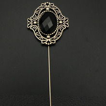 2020 Fashion Jewelry Gold Silver Chain Brooch Flower Lapel Pin Men Brooch Suit Accessories Broche Vintage Brooches For Women brooches tassel chain vintage mixed fabric rose men suit collar brooch broche lapel pin brooches for women jewelry accessories