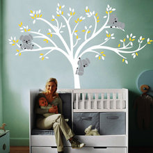 The koala on the tree fashion creative постер настенные картины