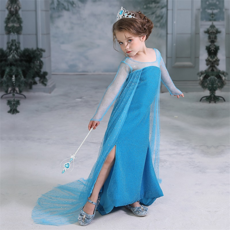 H2b5b31d6cfa74f4bba5a5ca069ffe0c2N 2019 Children Girl Snow White Dress for Girls Prom Princess Dress Kids Baby Gifts Intant Party Clothes Fancy Teenager Clothing