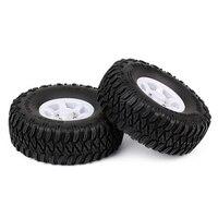 INJORA 4PCS 1.55 Beadlock Plastic Wheel Rim Tires for RC Crawler Car Axial AX90069 D90 TF2 Tamiya CC01 LC70 MST JIMNY 6
