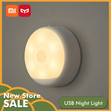 Xiaomi Mijia Yeelight LED Night Light Mini Infrared Magnetic with hooks Body Motion Sensor Smart Remote Control Globle Version