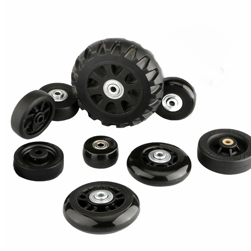 1 Pair Suitcase Wheels Bags Accessories Of Luggage Replacement Wheel Axles Deluxe Repair Tool Casters