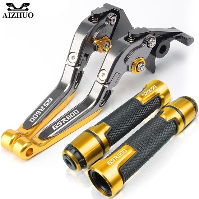 Motorcycle Accessories Brake Clutch Levers Handle Grips For Suzuki GSR600 GSR 600 2006-2011 2007 2008 2009 2010